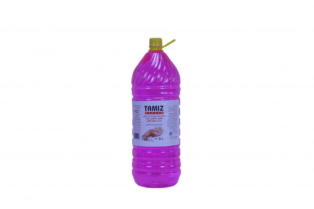 ضد عفونی کننده غیر الکلی 3 لیتری تمیز
